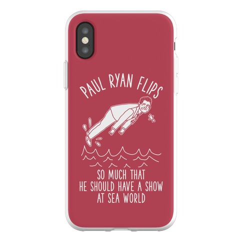 Paul Ryan Flips Phone Flexi-Case