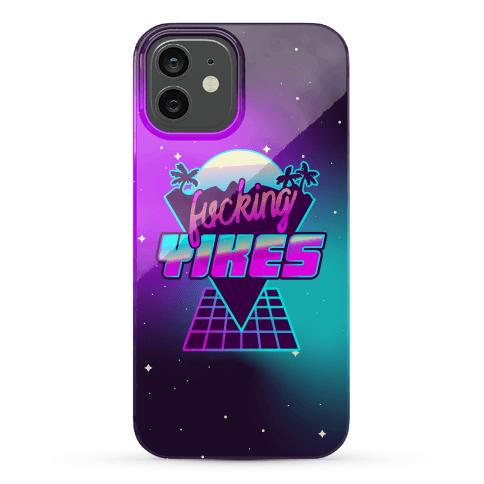 F***ing YIKES Retro Wave Phone Case
