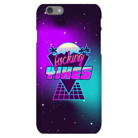 F***ing YIKES Retro Wave Phone Case