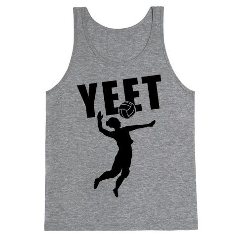 Volleyball YEET Tank Top