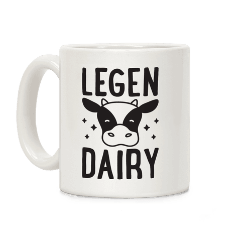 LegenDAIRY Cow Coffee Mug