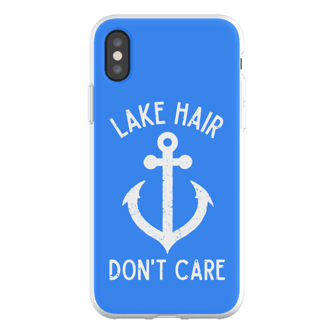 Lake Hair Don't Care Phone Flexi-Case
