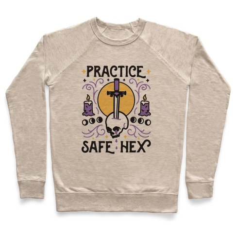 Practice Safe Hex Pullover