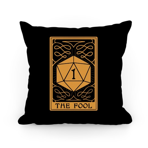 The Fool Nat1 Tarot Card Pillow