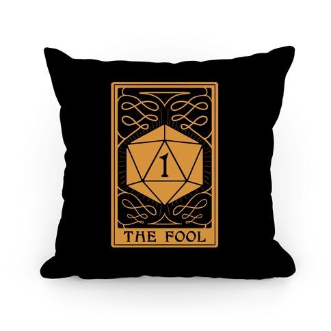 The Fool Nat1 Tarot Card Pillow