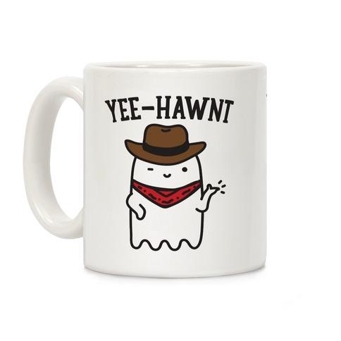 Yee-Hawnt Cowboy Ghost Coffee Mug