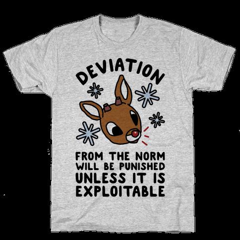 Deviation Rudolf Mens T-Shirt