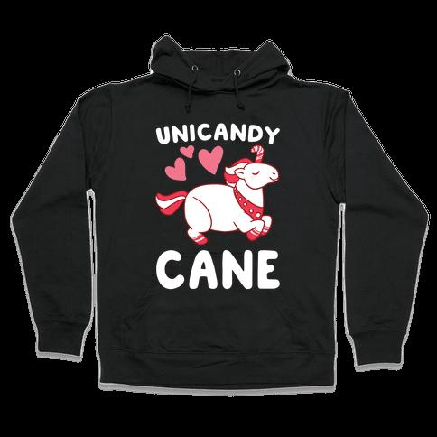 Uni-Candy Cane  Hooded Sweatshirt