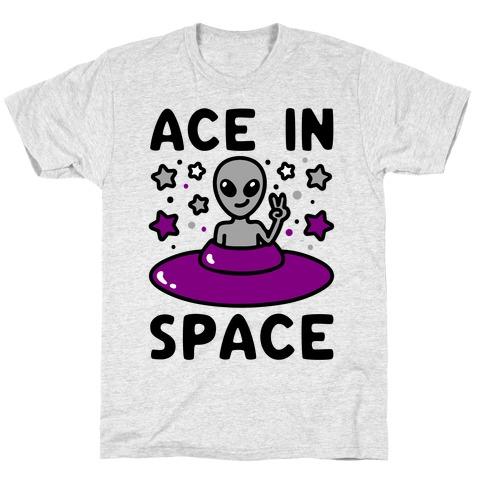 Ace In Space Alien Parody T-Shirt