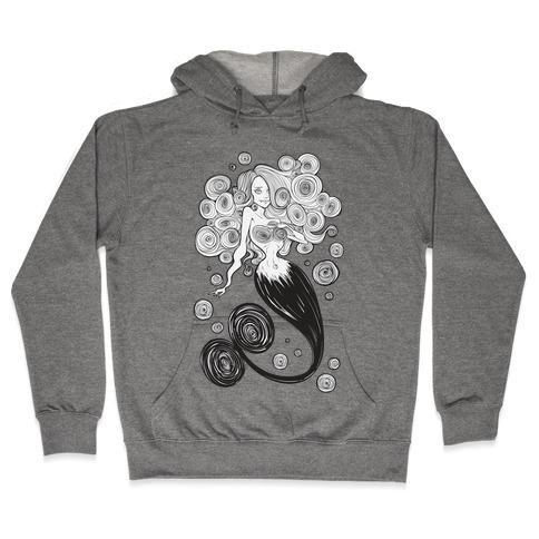 Spirals Mermaid Parody Hooded Sweatshirt