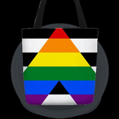 Ally Pride Flag Tote