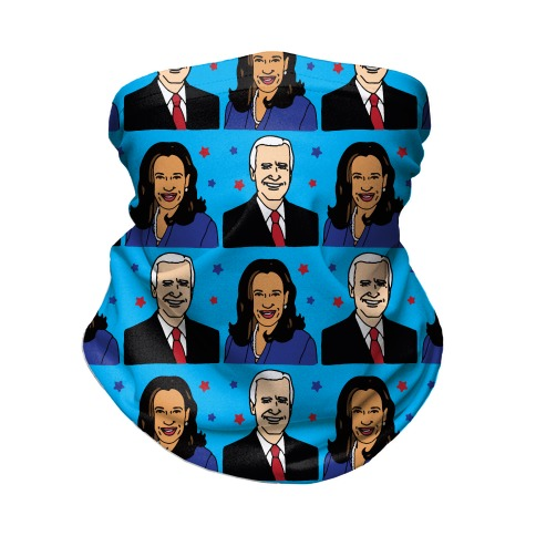 Biden Harris 2020 Pattern Neck Gaiter