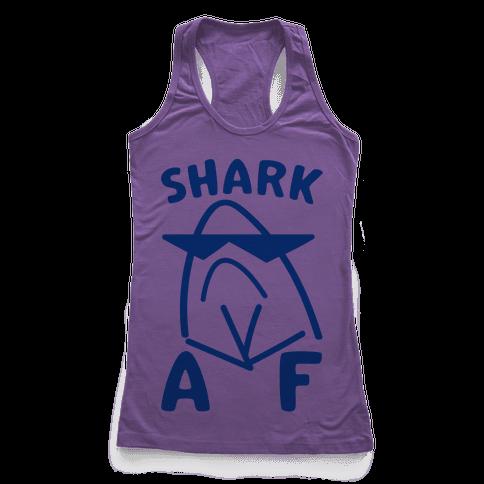 Shark AF Racerback Tank Top