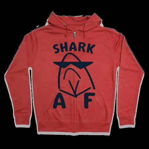 Shark AF Zip Hoodie