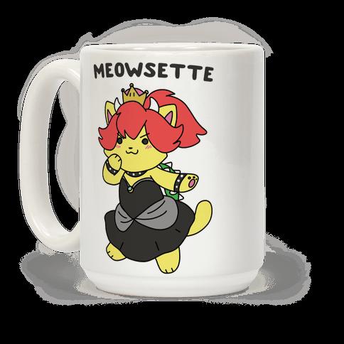 Meowsette Coffee Mug