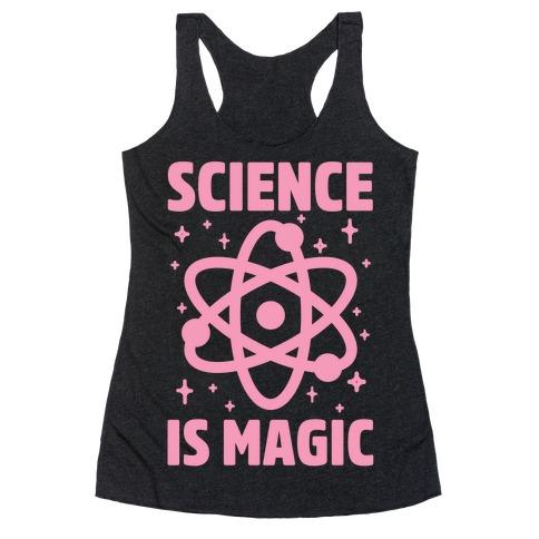 Science Is Magic Racerback Tank Top