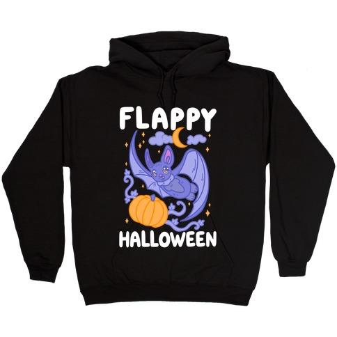Flappy Halloween Bat Hooded Sweatshirt