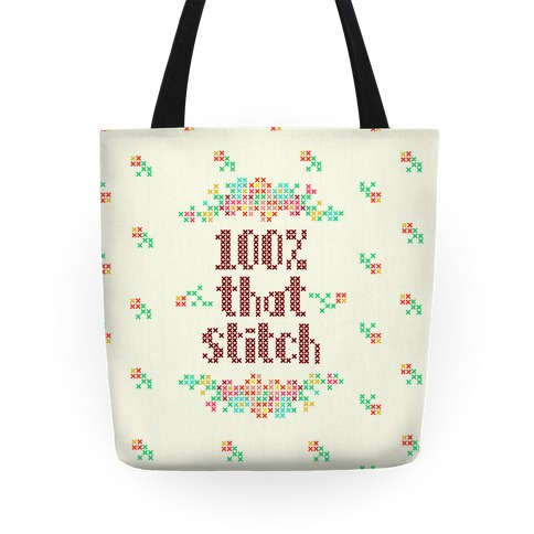 100% That Stitch Tote