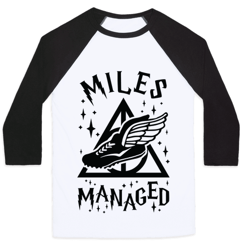 Miles Managed Baseball Tee