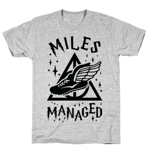 Miles Managed T-Shirt