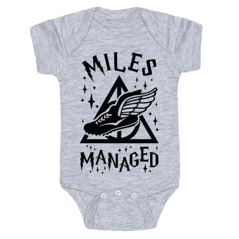 Miles Managed Baby Onesy