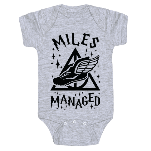 Miles Managed Baby Onesy