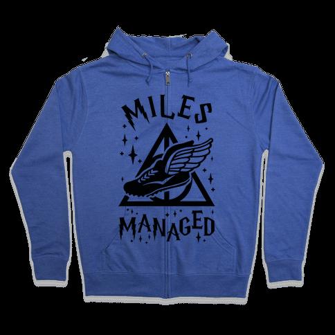 Miles Managed Zip Hoodie