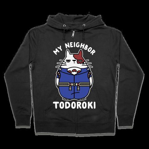 My Neighbor Todoroki Zip Hoodie