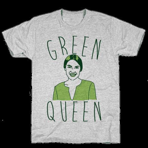 Green Queen AOC Mens/Unisex T-Shirt