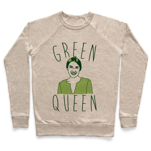 Green Queen AOC Pullover