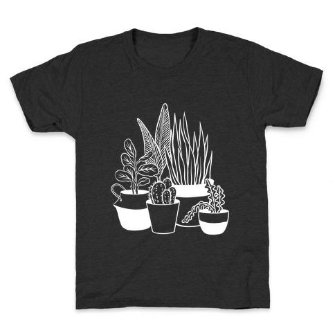 Houseplant Illustration Kids T-Shirt