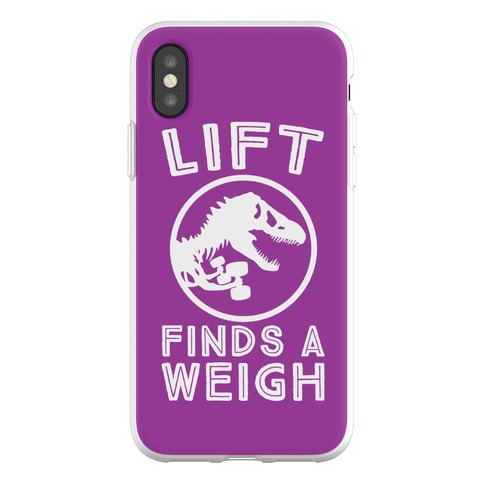 Life Finds a Weight Phone Flexi-Case