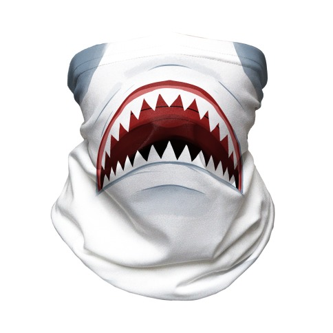Shark Mouth Neck Gaiter