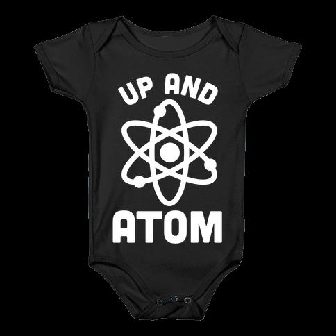 Up and Atom Baby Onesy