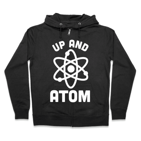 Up and Atom Zip Hoodie