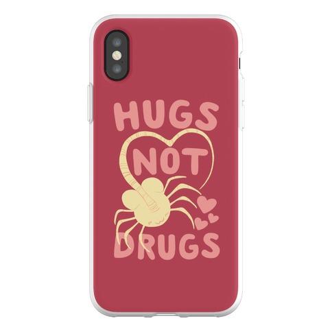 Hugs Not Drugs - Facehugger Phone Flexi-Case