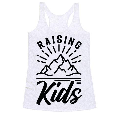 Raising Kids Racerback Tank Top