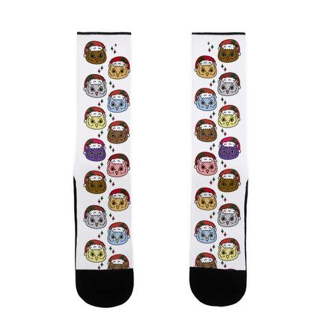 Owl Puns Socks Lookhuman