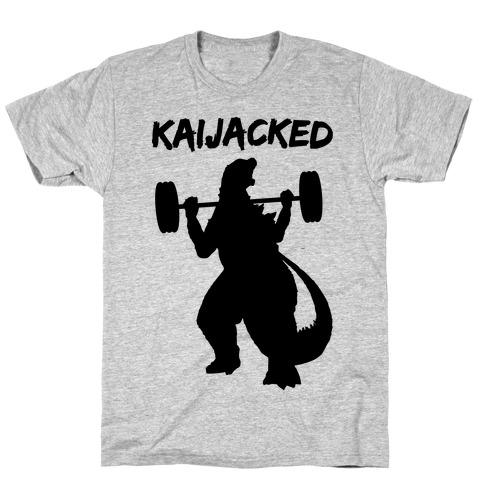 Kaijacked Kaiju Gozilla T-Shirt