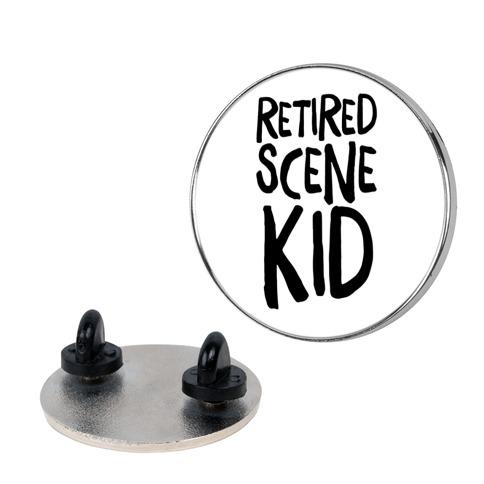 Retired Scene Kid Pin