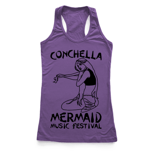 Conchella Parody Racerback Tank Top