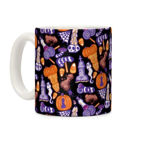 Halloweenies Pattern Coffee Mug