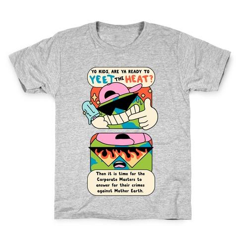 Yeet The Heat Kids T-Shirt