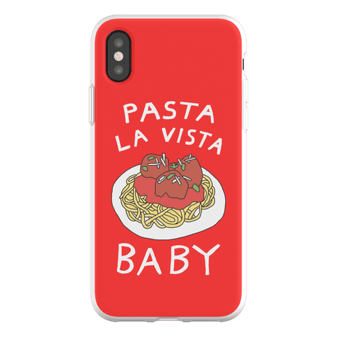 Pasta La Vista Baby Phone Flexi-Case