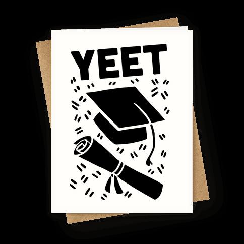 Yeet Greeting Card