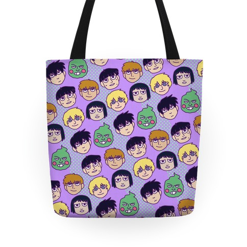 Mob Psycho 100 Pattern Tote