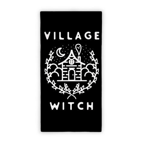 Village Witch Beach Towel