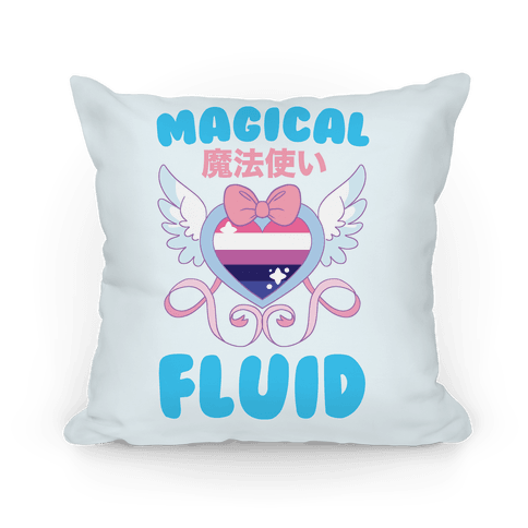 Magical Fluid - Genderfluid Pillow