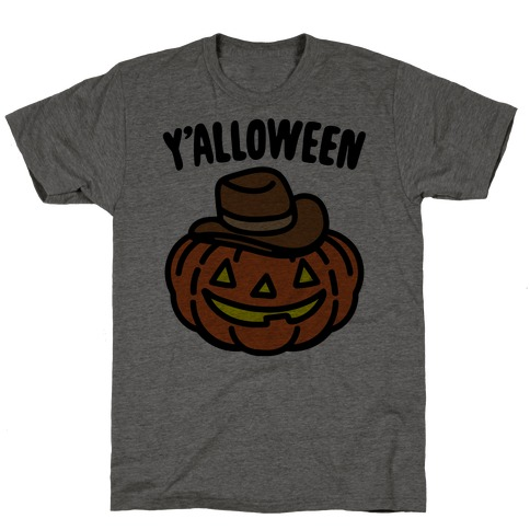 Y'alloween Halloween Country Parody T-Shirt