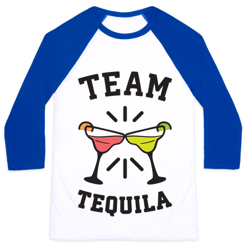 Team Tequila Baseball Tee